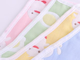 Baby big belly pocket cotton baby children's gauze 0-3 years old 6 newborn pockets care belly circumference summer thin section four seasons