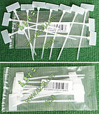 100x2.5mm writable tag labeling nylon plastic cable ties 12 packs per pack 1.5 yuan