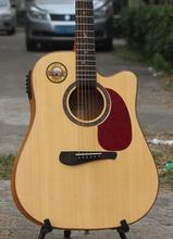 闲置全单吉他二手全单板民谣吉他急转自用41寸高端木吉他