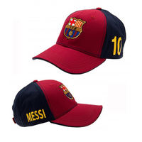 Barcelona Barcelona official authentic football fans around Messi signature souvenir caps