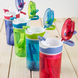 American rabbit mother Contigo Condik children's snack straws cup leakproof and drop men and women dual-use 384ml*2