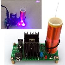 Mini musique avec bobine Tesla plasma Corne expérience scientifique de la technologie électronique de bricolage de production de petite invention