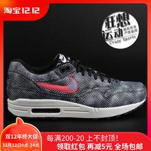 新款正品Nike Air Max1 限量黑斑圆点男休闲板鞋744491-001现货