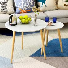 小茶几简约 迷你沙发边几 北欧实木边桌卧室床头桌子角几小方桌