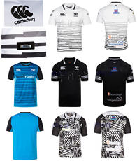 2018OSPREYS Canterbury rugby Jersey Xia Yinger Erlang ropa de rugby manga  corta 38bfd2769e26