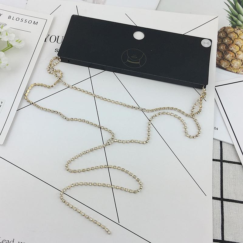 白宝石项链