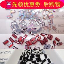 施华洛元素烫钻矩形款 2510款 美?#35013;?#38075; 玻璃钻 衣服粘钻秀禾服钻