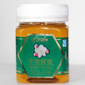 老字号 百花牌苹果蜂蜜250g 天然0添加稀有蜂蜜纯农家蜜 3瓶包邮