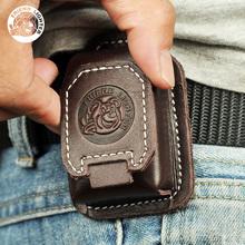 火机保护套磁扣穿戴耐用真皮手工通用ZP配件 棉油打火机皮套常规款