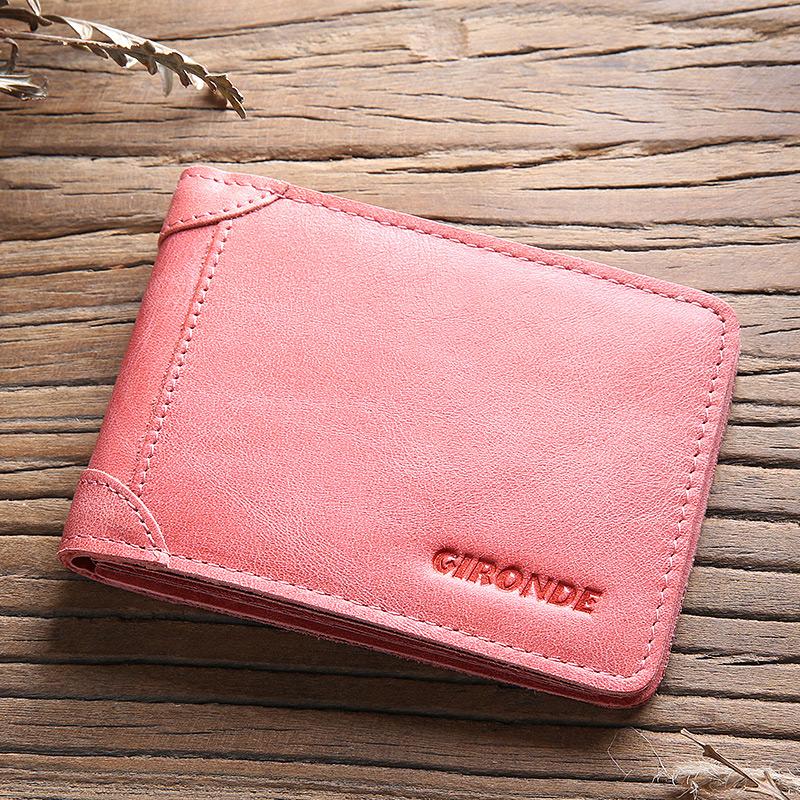 纪龙德 女士驾驶证真皮行驶证皮套卡包韩版个性牛皮超薄钱包一体