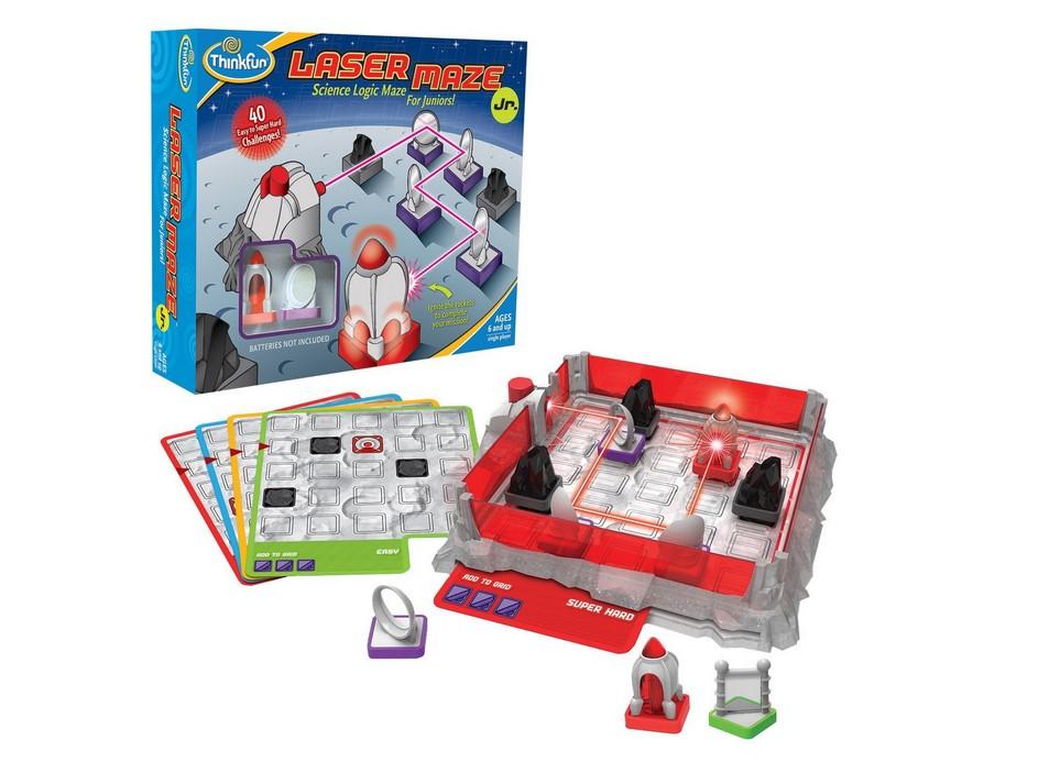 美国Thinkfun镭射迷宫益智玩具激光迷宫儿童益智桌游双人镭射象棋