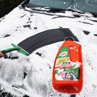 龟牌洗车液水蜡泡沫白车专用泡泡去污上光汽车腊水黑色用品清洗剂