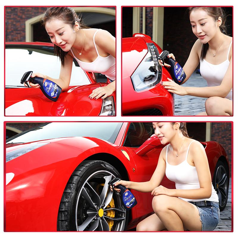 龟牌冰膜汽车镀晶车漆纳米镀膜剂喷雾液体玻璃养护蜡冰腊车蜡套装