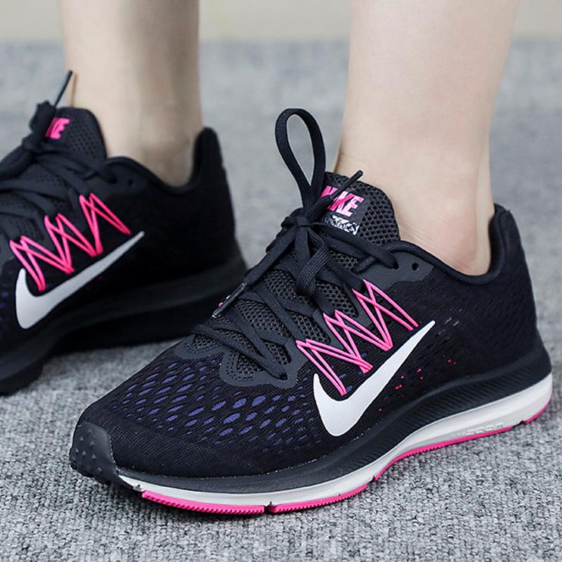 NIKE耐克女鞋2018秋季款Zoom气垫运动鞋轻便减震跑步鞋AA7414-401