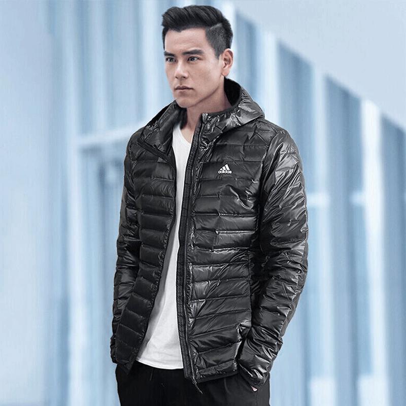 Adidas阿迪达斯男2018秋冬新款运动保暖羽绒服外套羽绒夹克BQ7782