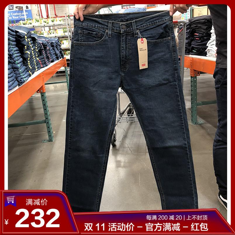 18秋季新款 Levi's/李维斯 男士REGULAR FIT直筒休闲牛仔裤505,levi's李维斯牛仔裤