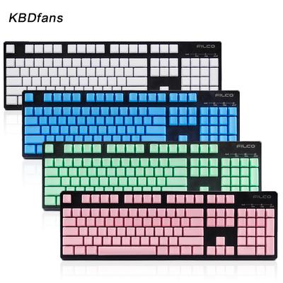 pbt无刻键帽粉色 黑色白色 绿色无刻机械键盘键帽filco魔力鸭专用有假货吗