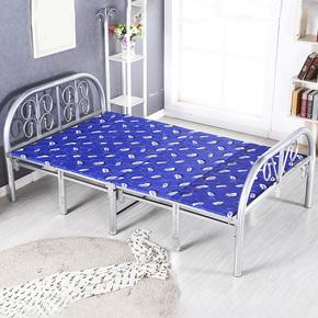 折叠床双人午睡床床午休床儿童床1.2米1米1.5米90cm包邮单人
