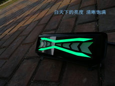 DreamWorks produces Maverick electric car N1N1S rear tail light turn light color multi-mode LED light guide tail