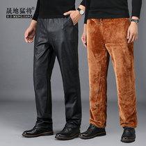 羊剪绒男女皮裤皮毛一体整羊皮内胆皮裤真皮羊毛羊皮裤绵羊皮裤子