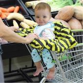 便携式餐椅套 宝宝外出不怕脏 防脏罩 超市购物车宝宝座椅套