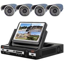 监控器高清套装家用 200万夜视摄像头设备带屏一体机手机远程视频