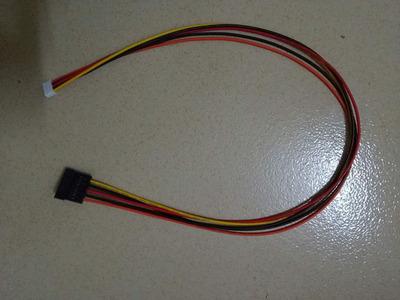 专业生产IDE转SATA 5P转SATA电源线电源线转换头转接线延长线