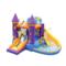 儿童充气城堡充气大滑梯蹦蹦床吹气弹床戏水乐园家用游乐场水滑梯