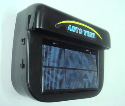 1w大功率太阳能汽车降温器/汽车排风扇/排气扇/车内热气换气扇