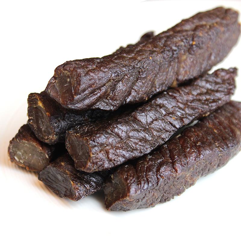 蒙粮正宗内蒙古牛肉干手撕风干牛肉干特产原味辣味真空零食