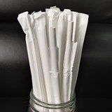 Free shipping 100 loaded disposable environmental health juice drink straw straw colored paper loaded independence