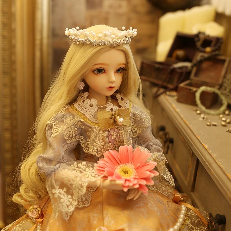 多丽丝凯蒂改妆娃娃BJD女孩生日七夕情人节玩具公主礼盒套装包邮