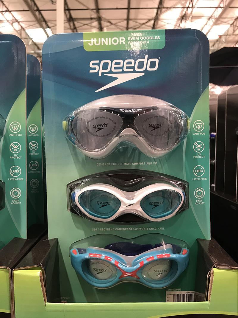 美国代购 Speedo速比涛青少年游泳镜 防紫外线防雾护目镜3件