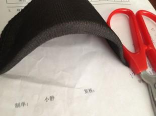 服装辅料 黑白色服装垫肩肩垫 小西装衬衣衬衫垫肩 海绵薄厚垫肩