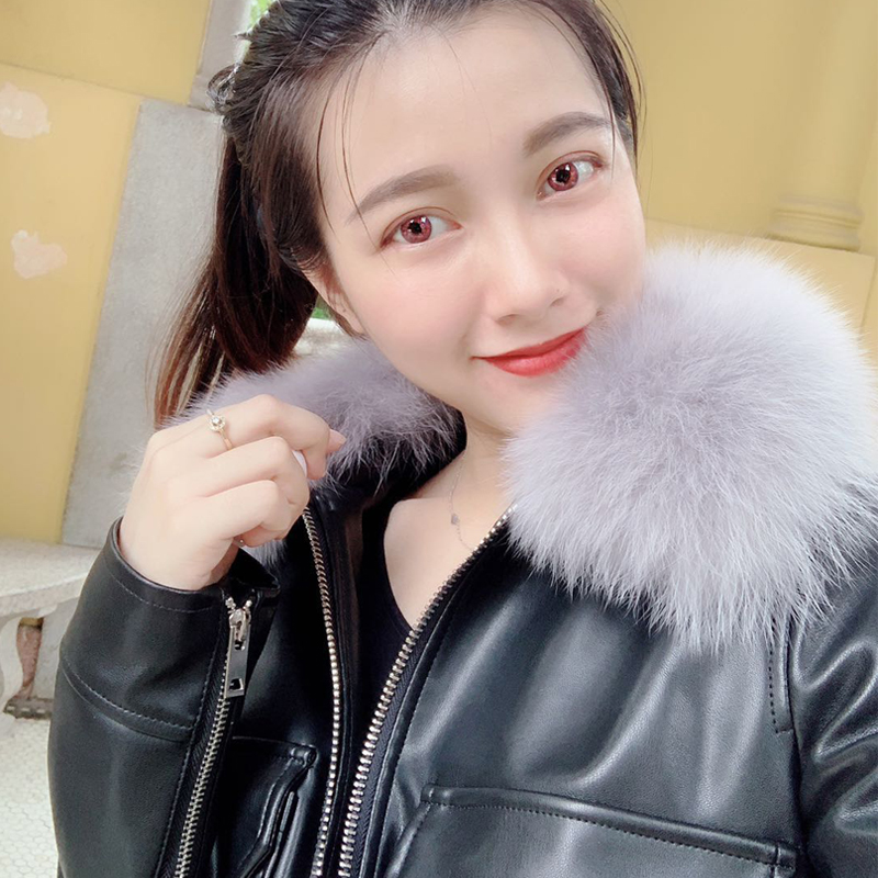 Женские кожаные куртки Артикул 582120234719