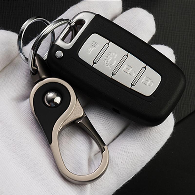 汽车钥匙扣男腰式圈遥锁匙链情侣挂件环定制简约创意礼品男女通用
