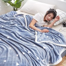 Winter blankets, coral fleece blanket thick flannel sheets
