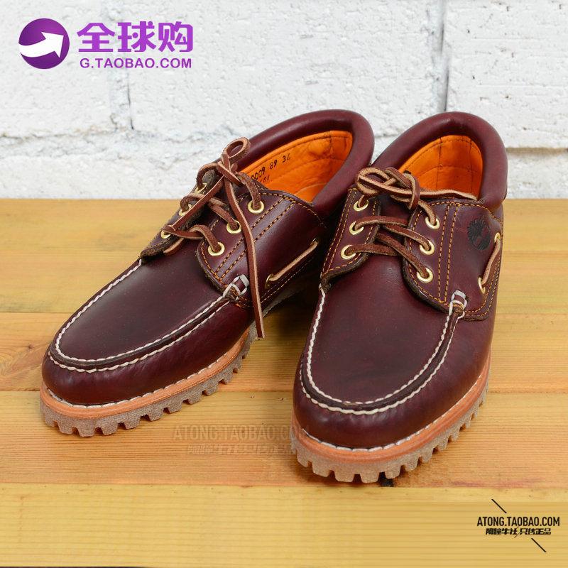 【阿瞳牛社】美国Timberland天伯伦男士真皮帆船鞋30003/50009