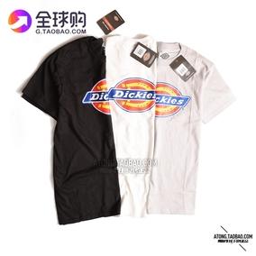 阿瞳牛社 美国Dickies基本款男装T 恤 圆领字母LOGO短袖 夏季薄款
