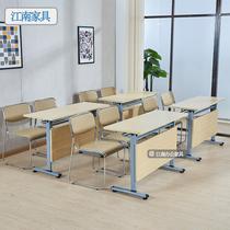 包邮椭圆形会议桌电脑培训长桌职员办公桌简约现代会客洽谈接待桌