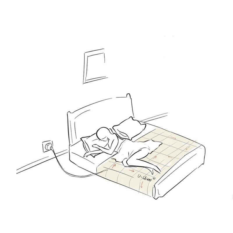 接地气床单接地床单防辐射面料防静电床单布导电布孕妇老人床单