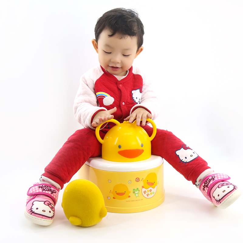 【清仓】黄色小鸭男婴儿马桶坐便器女宝宝马桶垫多功能婴幼儿小孩
