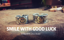 Lotus Studio Pure Silver, Old Smile Smile Smile Rings