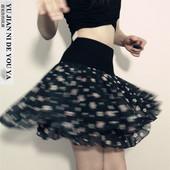跳舞群广场舞裙拉丁舞短裙性感女士女式半身裙大裙摆新款 夏季专业
