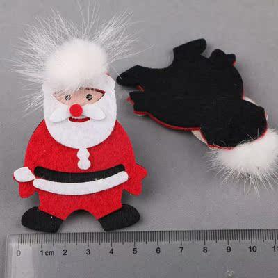原DIY儿童圣诞发饰品配件 多款式手工头饰女孩发夹节日礼品装饰款