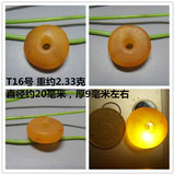 Natural West Asian Amber Old Honey Wax Pie Pie Pie Trade Pearl DIY Bead pendant special price old injury