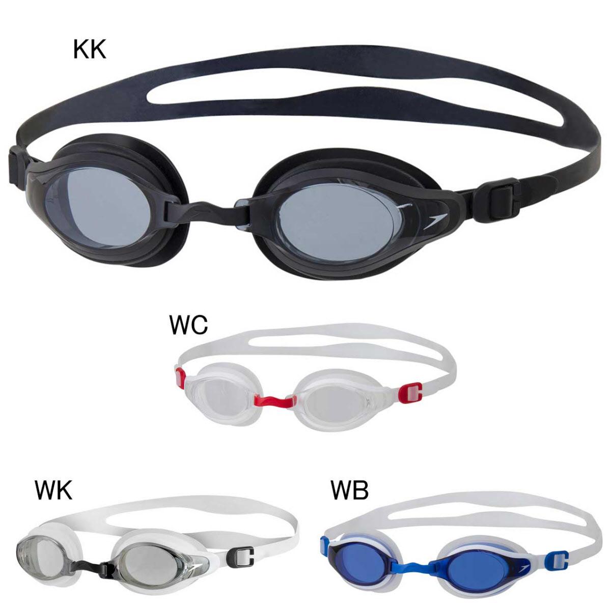 新JP版Speedo速比涛游泳眼镜运动休闲胶圈无镀膜泳镜男女SE01915
