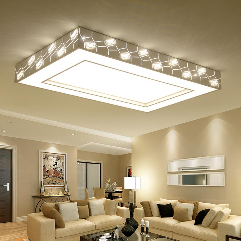 客厅灯长方形大气 现代简约LED吸顶灯家用创意时尚卧室灯大厅灯具1元优惠券