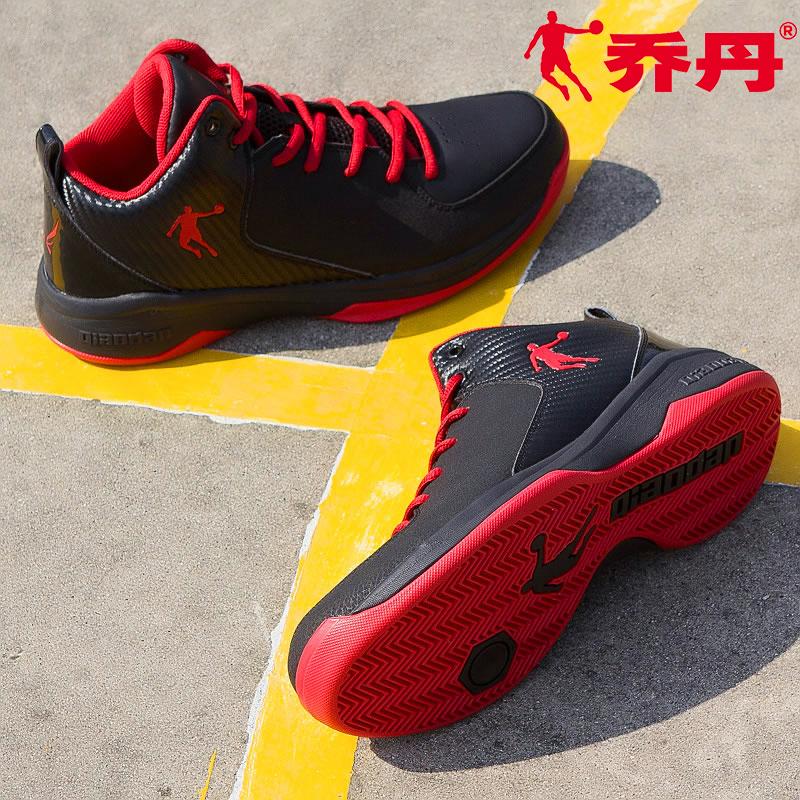 乔丹篮球鞋男冬男鞋2019春季正品耐磨低帮球鞋透气运动鞋减震战靴