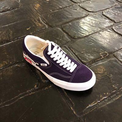白菜VANS SLIP  ON  CAP 紫色解构低帮懒人鞋滑板鞋VN0A3WM5VO3